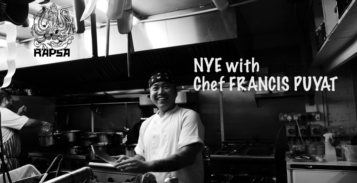 NYE with Chef Francis Puyat