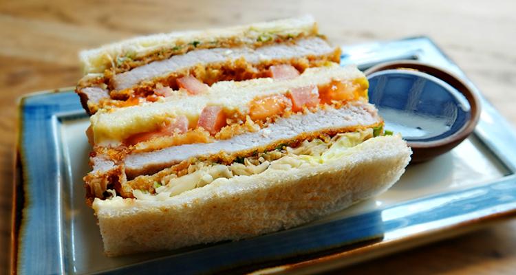 Tanakatsu London Katsu Sandwich