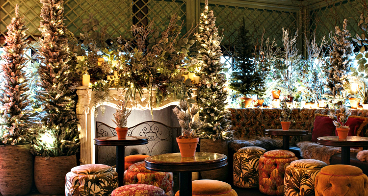 The Ivy Spinningfields Winter Rooftop