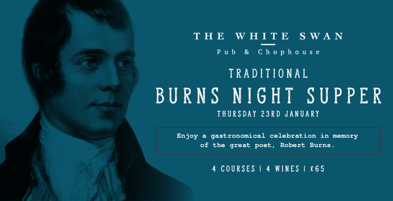 Traditional Burns Night Supper and Fine Wine Evening
