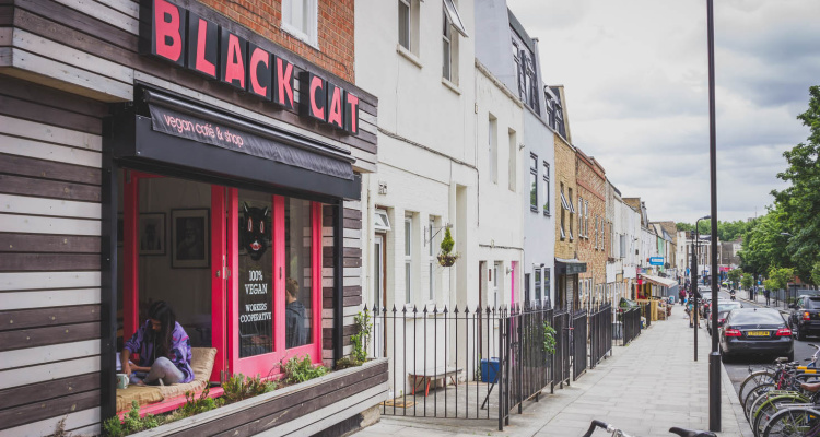 Black Cat Cafe | Vegan Fry-Ups | DesignMyNight