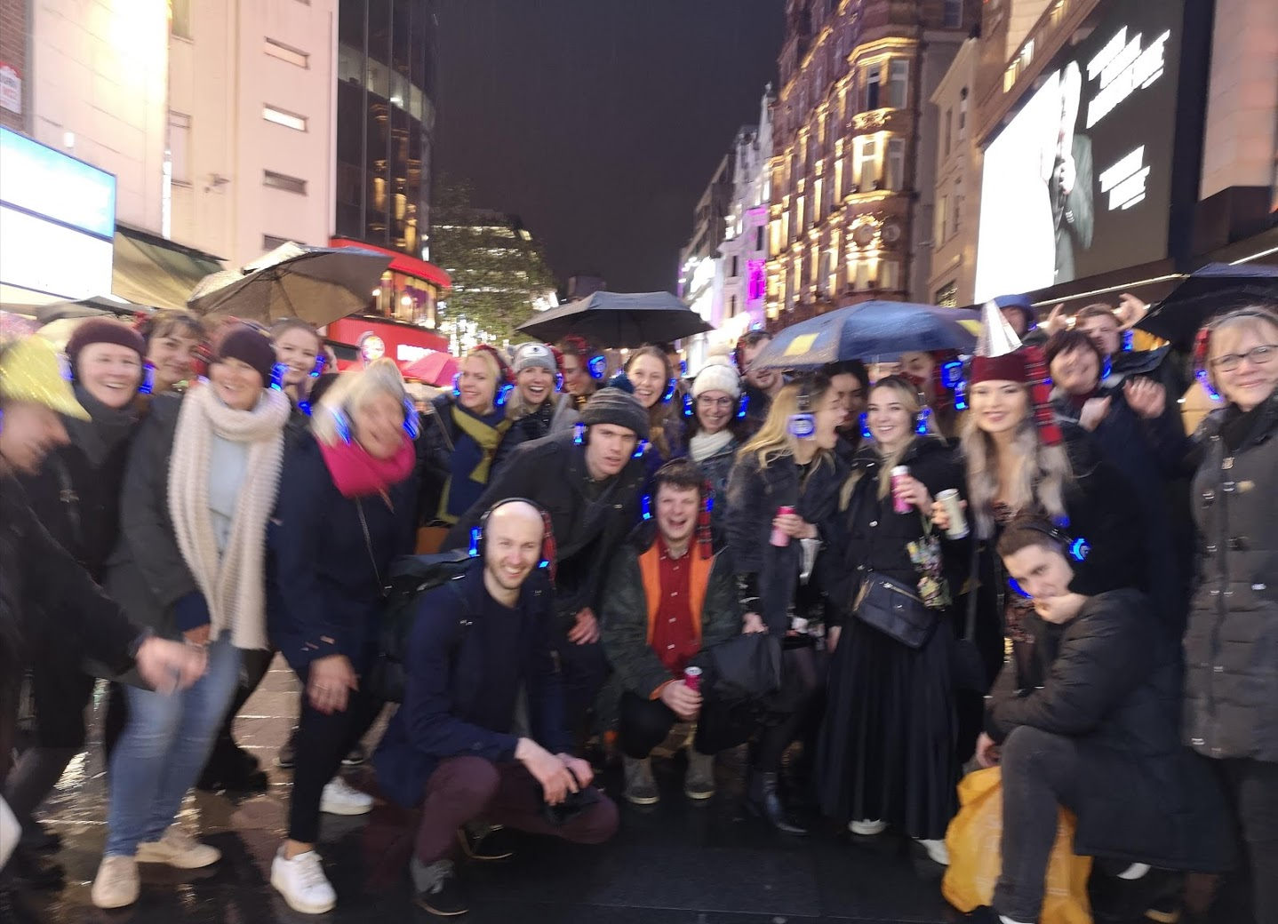 Boogie Shoes Silent Disco Walk West End London Christmas Party 2021