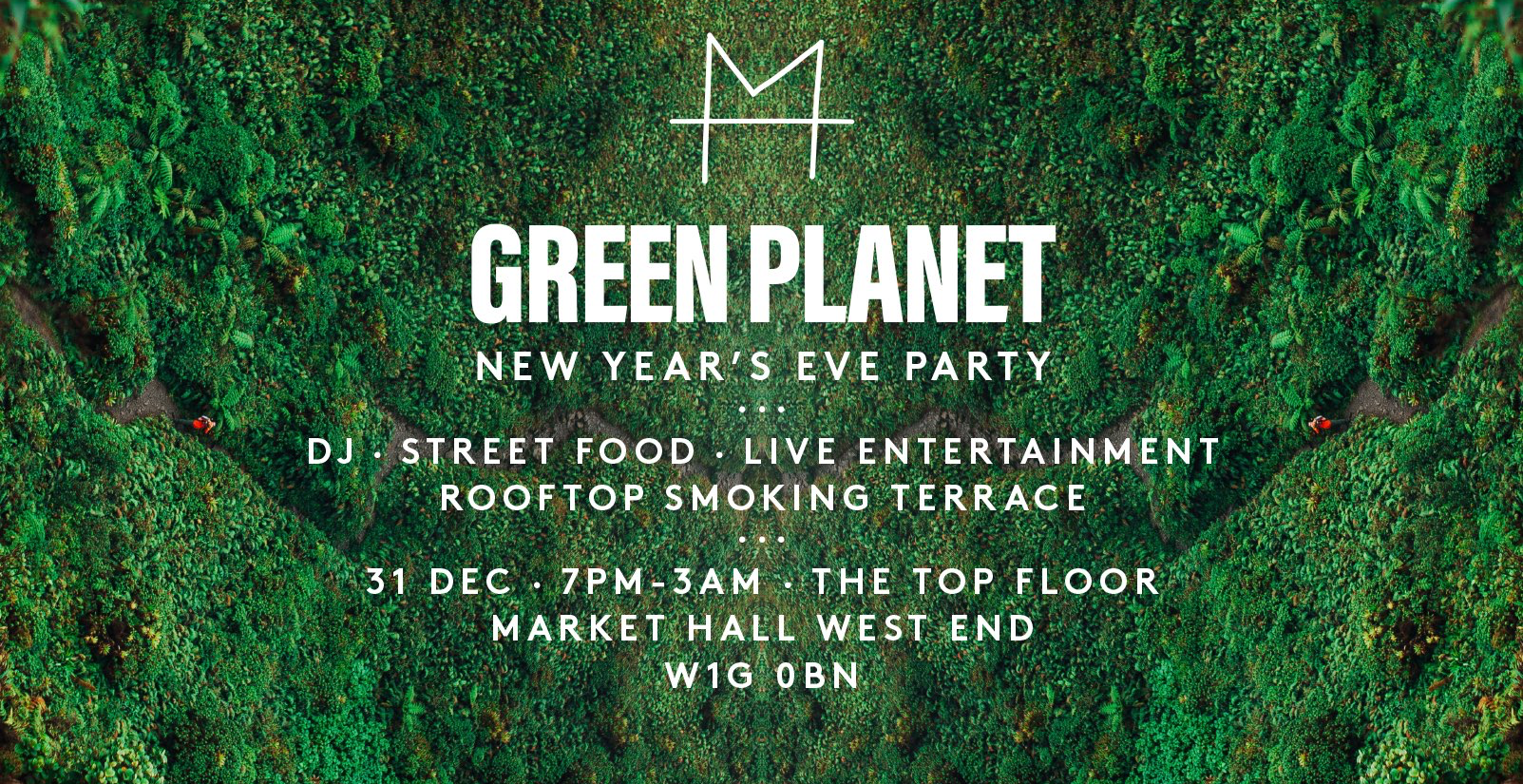 Green Planet New Year's Eve Party