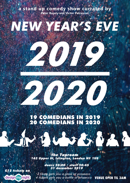 New Years Eve Comedy show 2019/2020