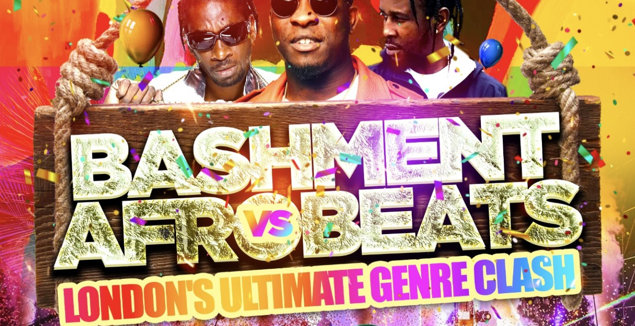 Bashment vs Afrobeats - Shoreditch Party