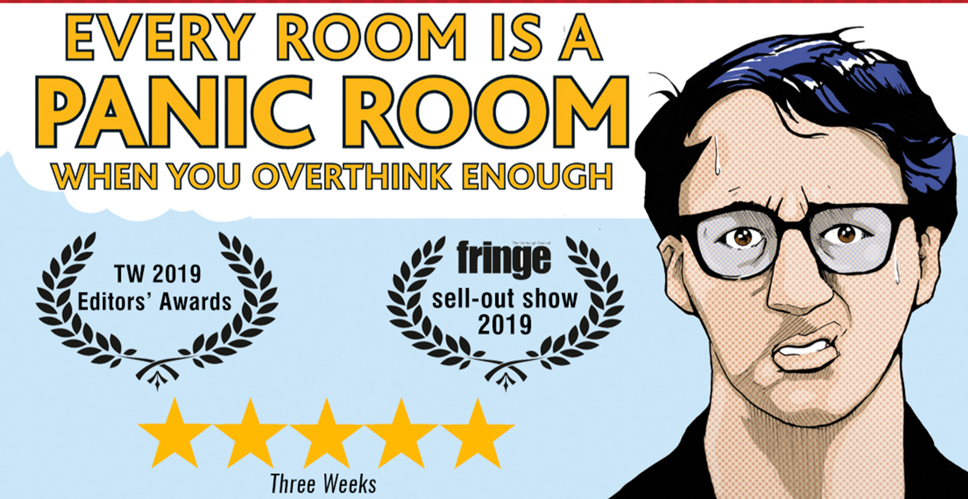 Simon Caine tries some (soon to be) award winning comedy at the Bill Murray