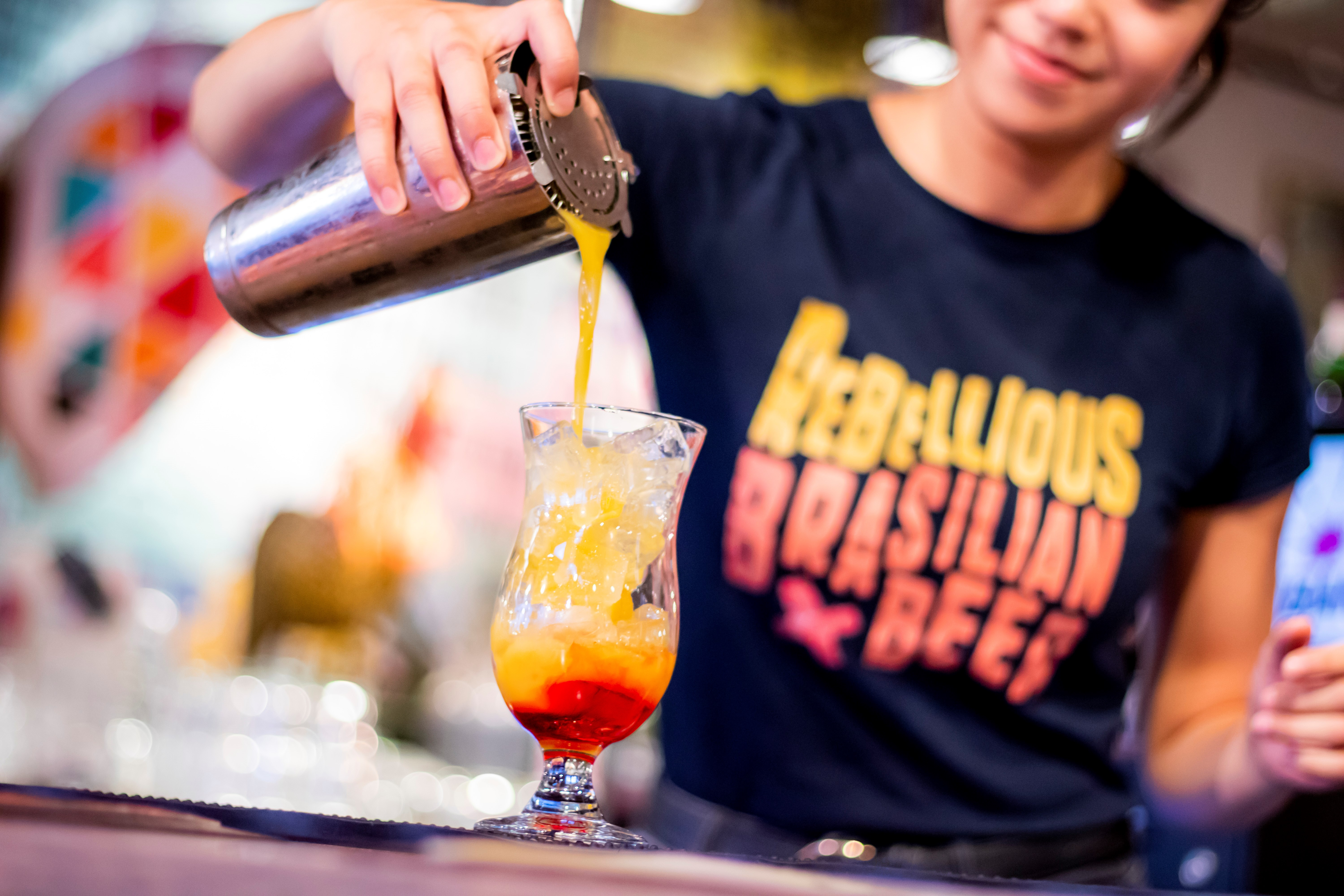 Best of Cabana with Free flowing Prosecco and bottomless Caipirinha's