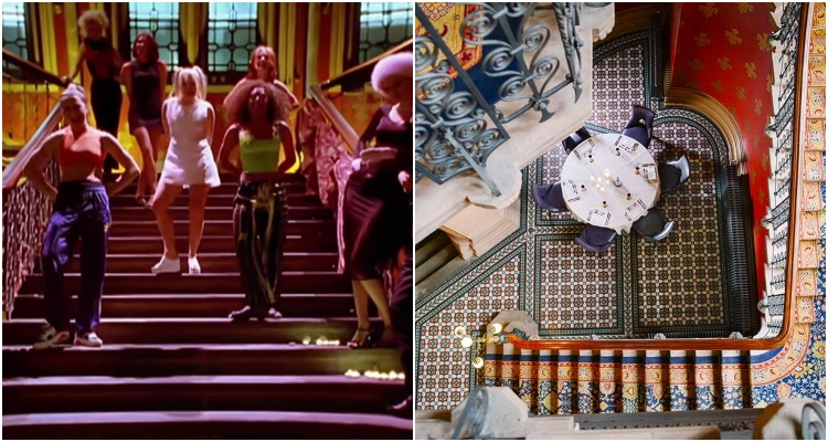 Spice Girls Staircase Dinner | London Restaurant News | DesignMyNight