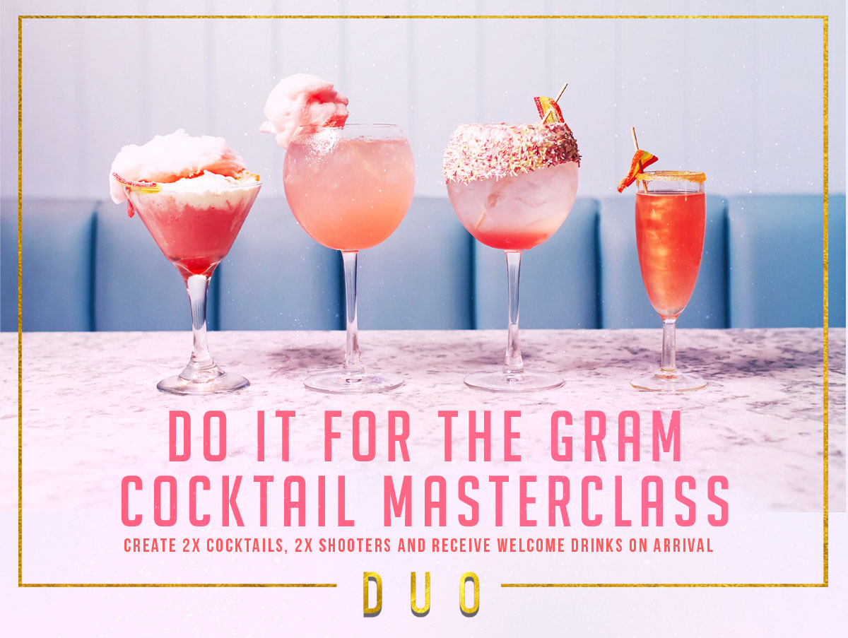 Do It for the Gram Cocktail Masterclass
