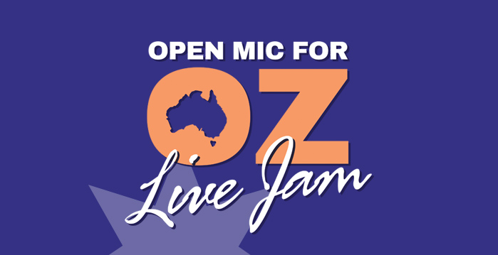 Open Mic For Oz - Live Jam