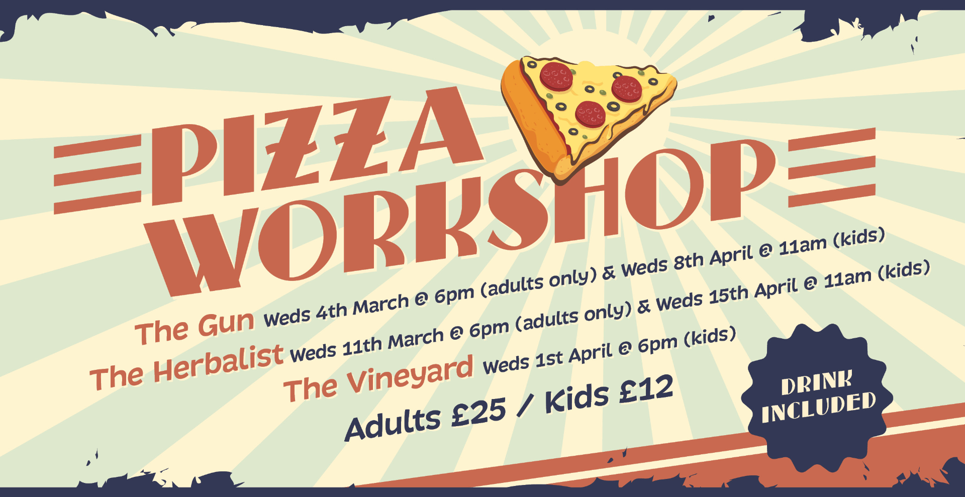 Kids Pizza Workshop