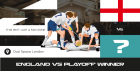 4theFans Presents England vs Play Off Winner - Live Screening