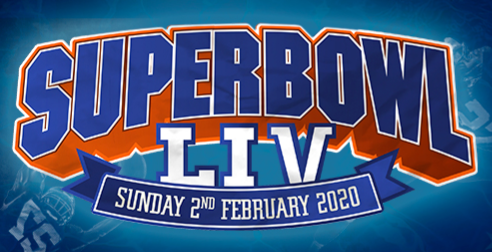 Super Bowl LIV  at Tropicana Beach Club