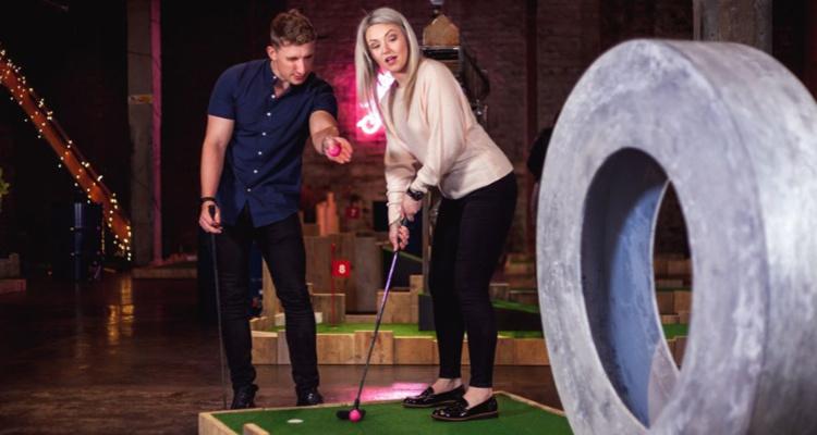 Fore Play Pop-Up Edinburgh | Edinburgh Events | DesignMyNight