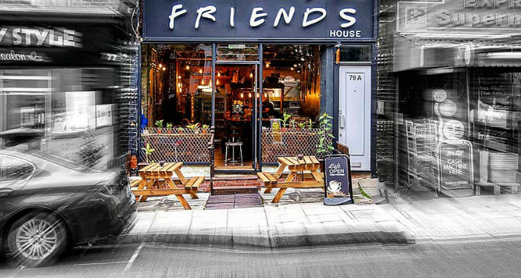 Friends house cafe wine bar north london