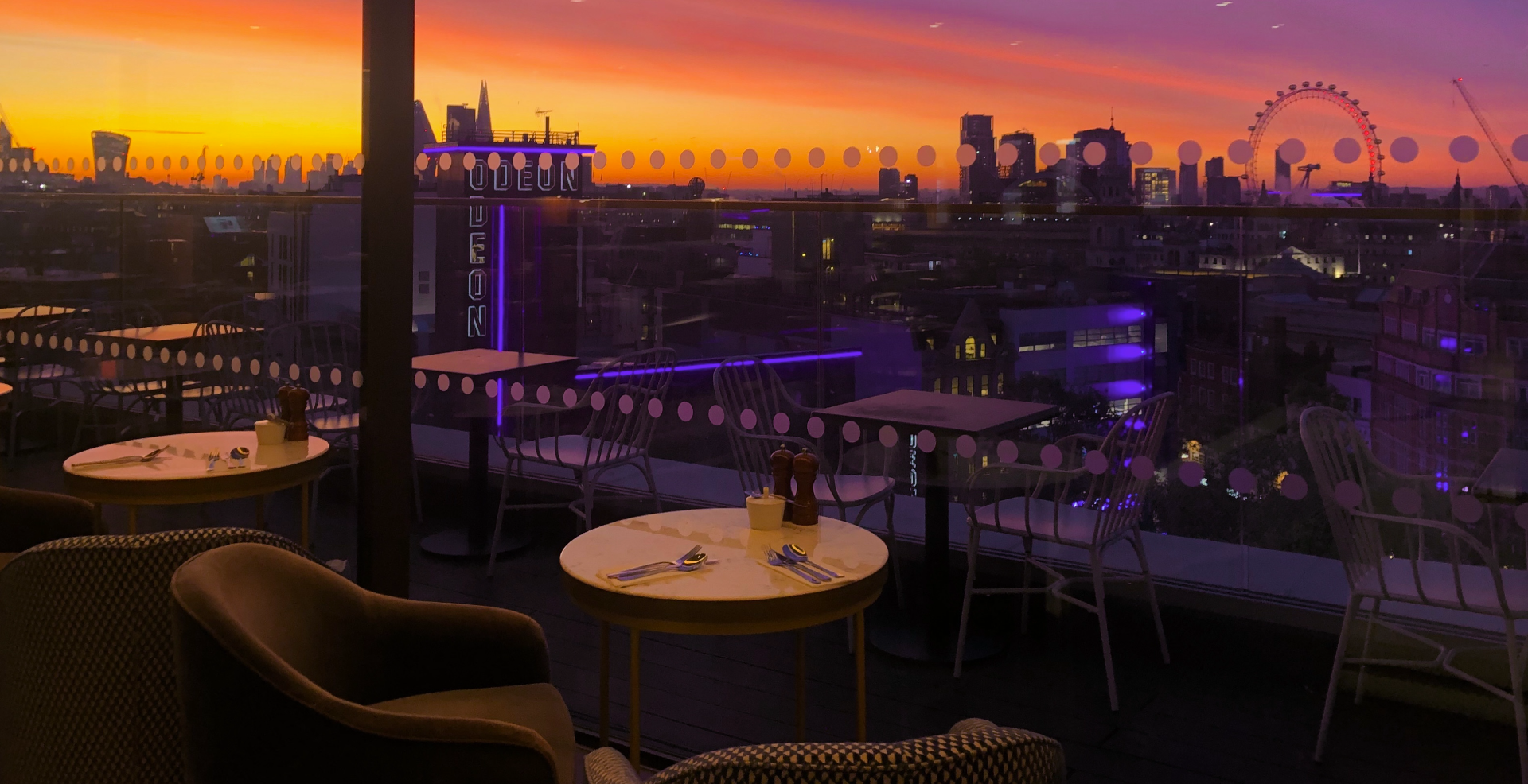 Valentine's with a view at LSQrooftop