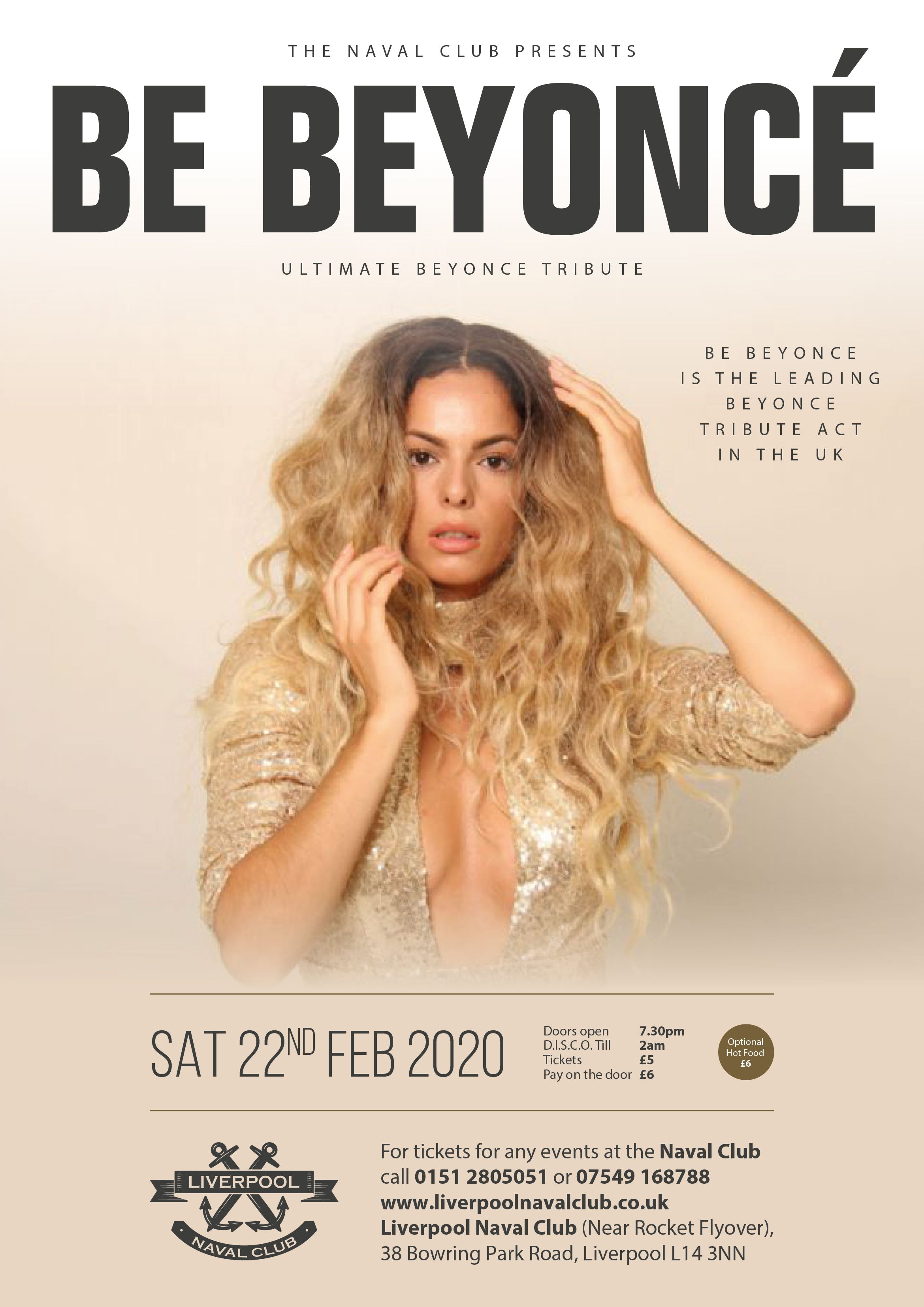 Ultimate Beyonce Tribute - Be Beyoncé