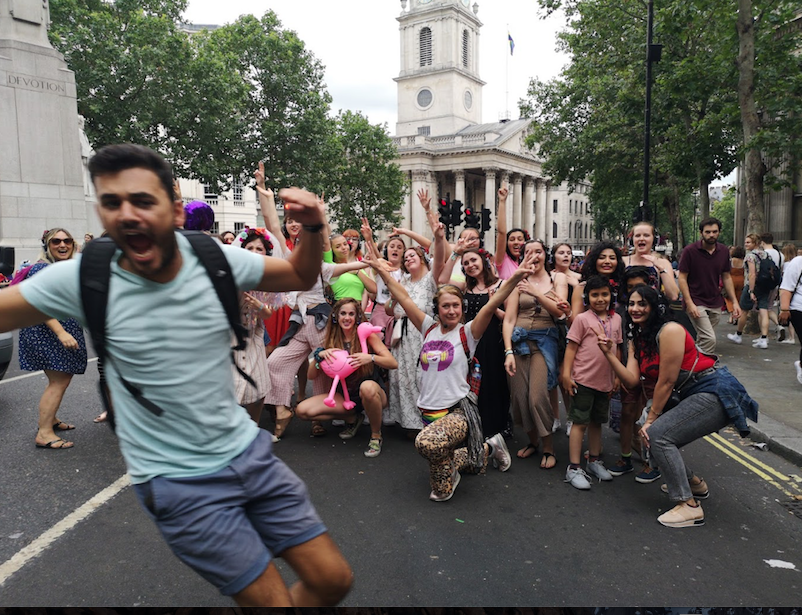 Silent Disco Tours London with Boogie