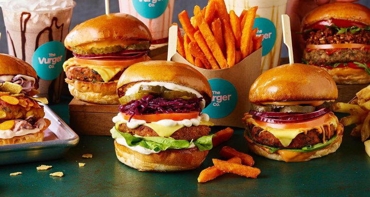 The Vurger Co lant-based burgers in Brighton