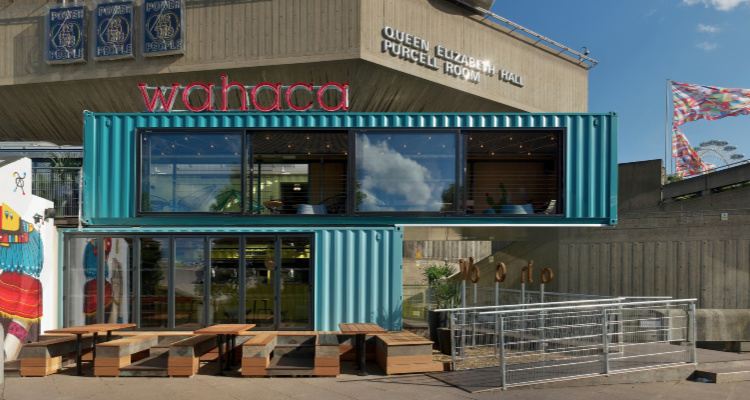 Wahaca | London Shipping Containers | DesignMyNight