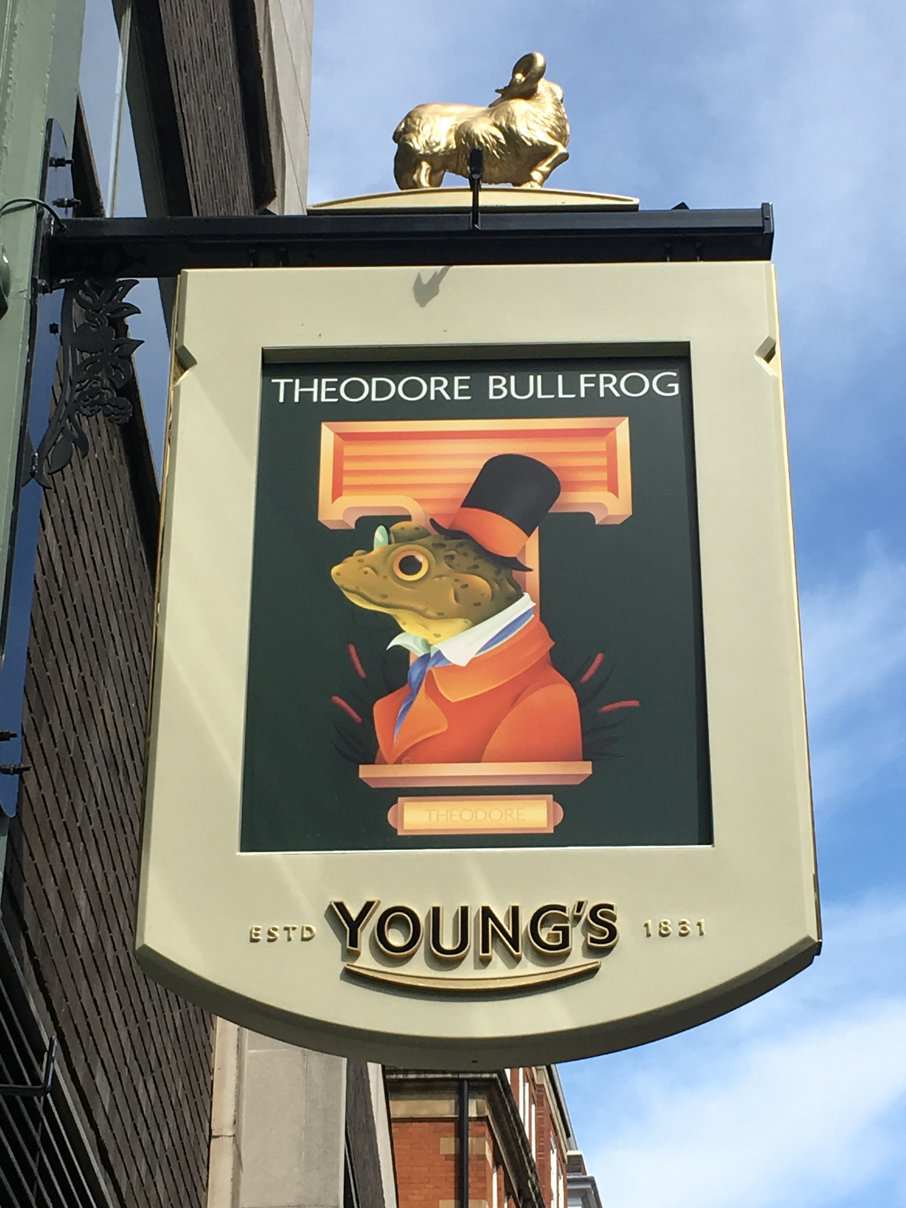 The Theodore Bullfrog