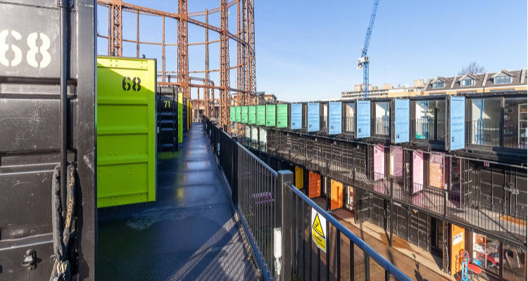 Containerville | London Shipping Containers | DesignMyNight