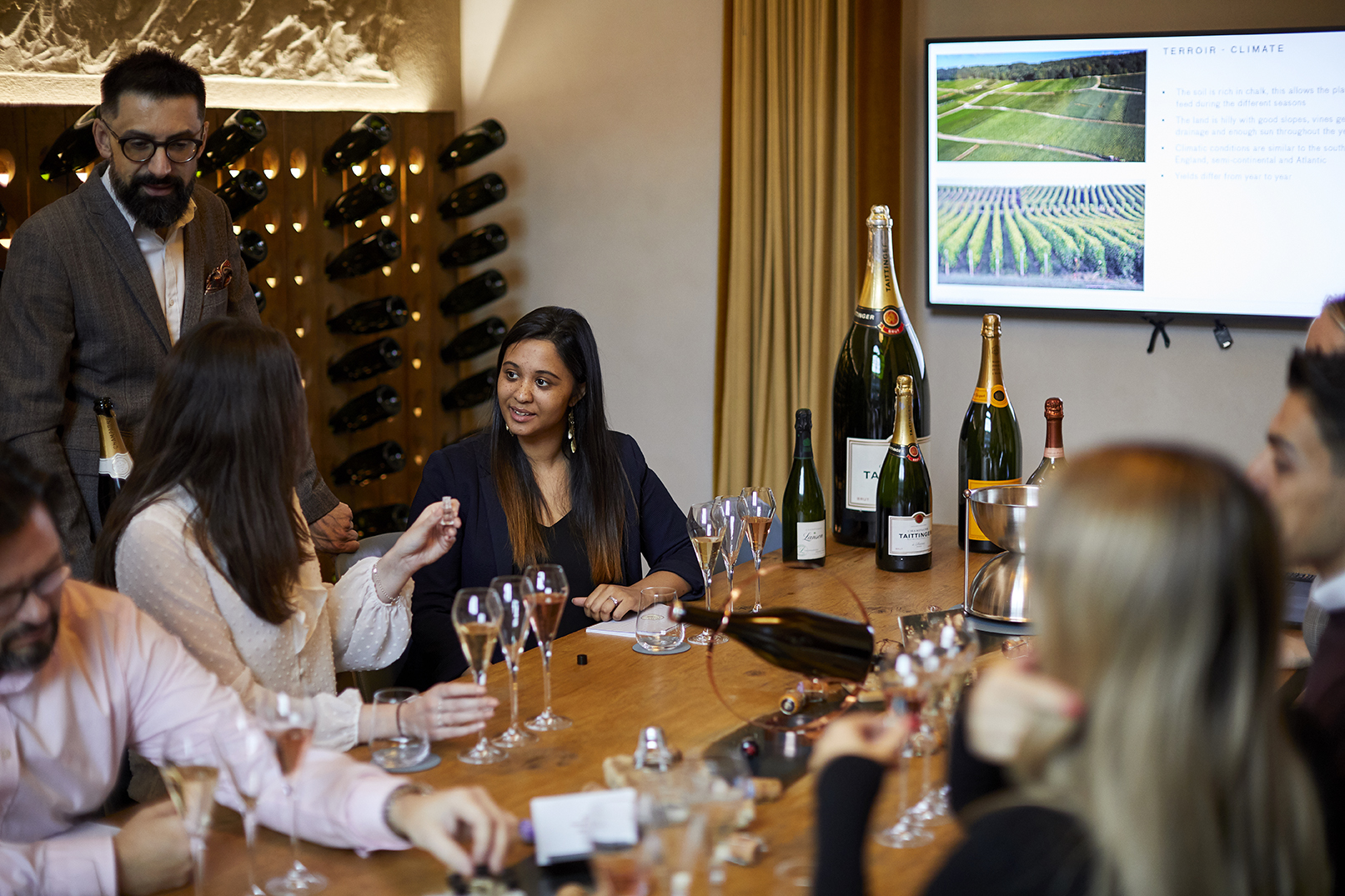 Champagne Masterclass 8th September