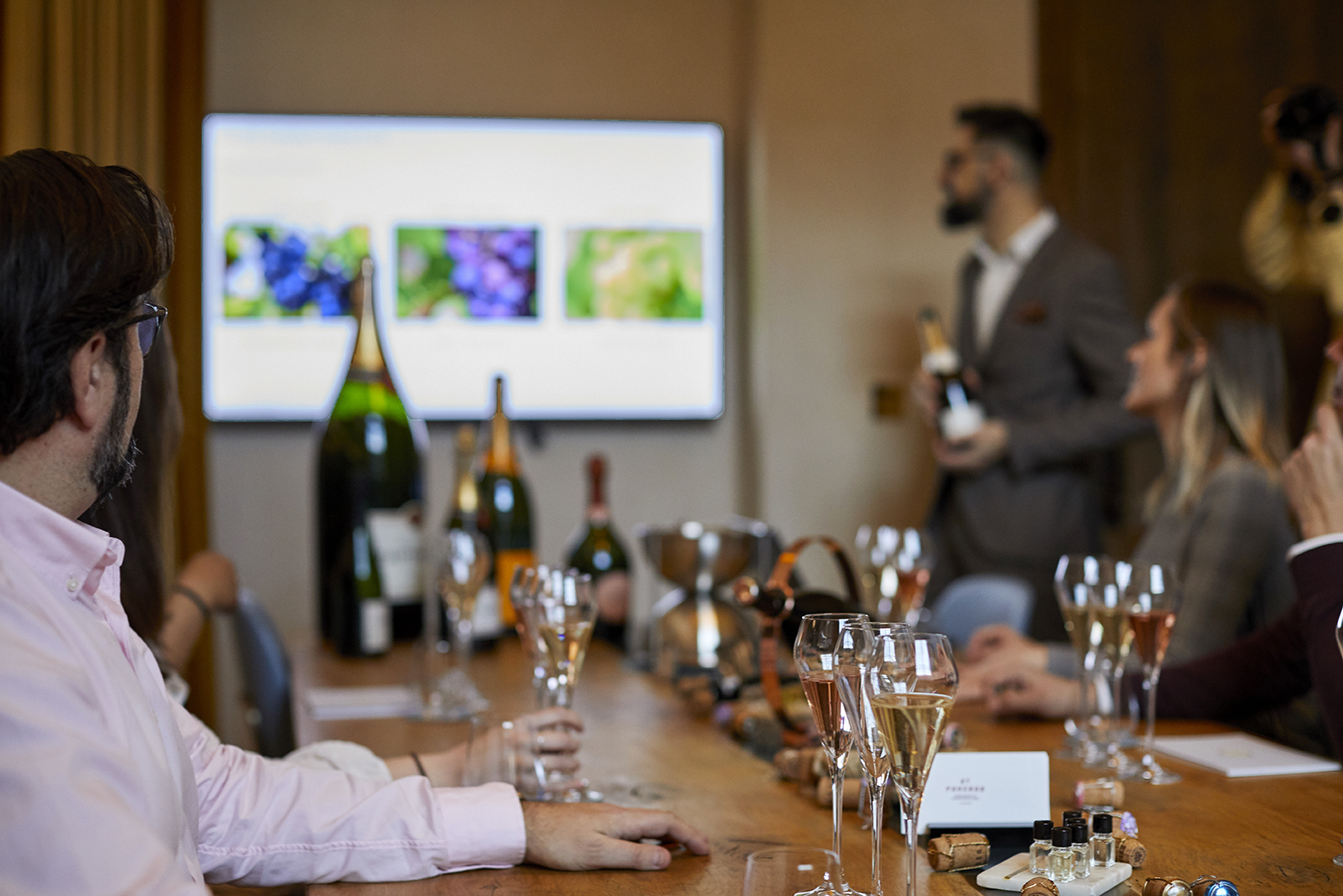 Champagne Masterclass 3rd November
