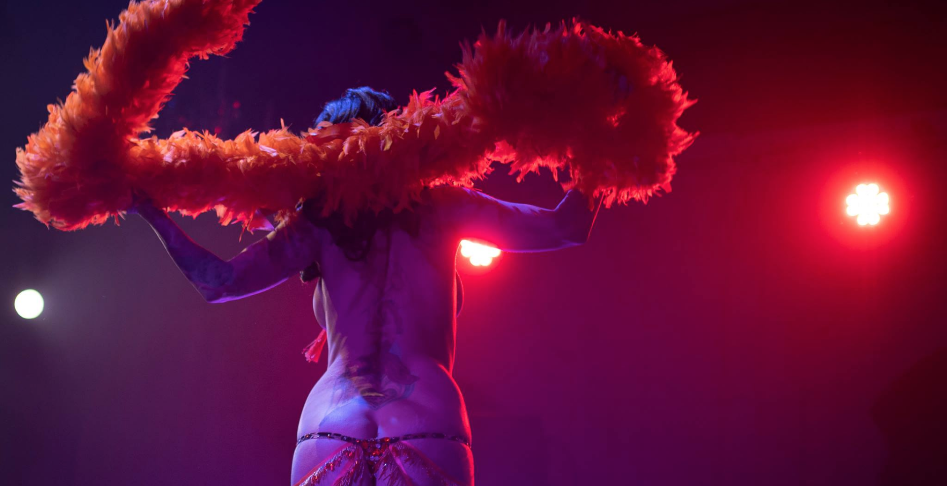 London Burlesque Festival 2020: PEEPSHOW PREVIEW