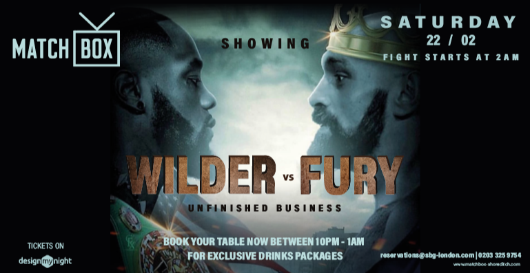 WILDER VS FURY: UNFINISHED BUSINESS