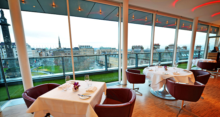 Forth Four Brasserie Harvey Nichols Edinburgh