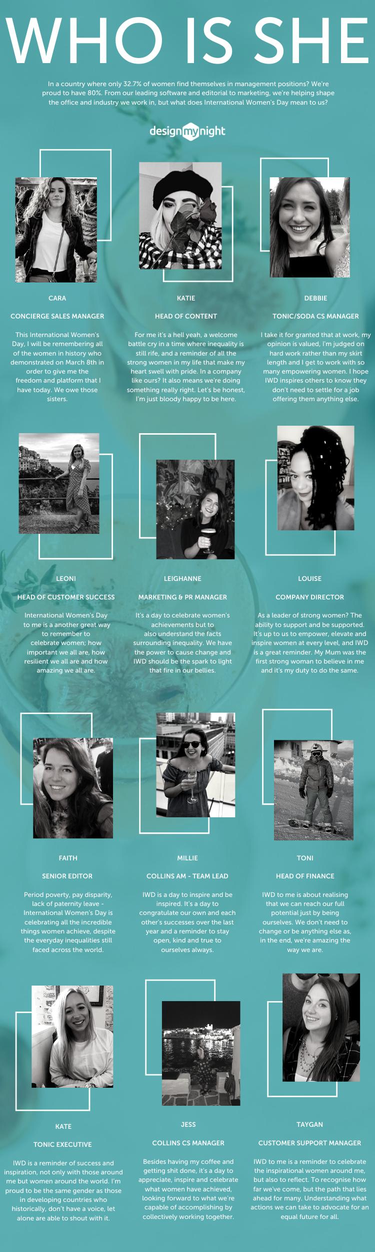 international women's day on designmynight