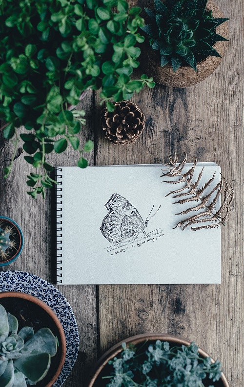 Crafternoon:Mindful Drawing for Mental Wellbeing