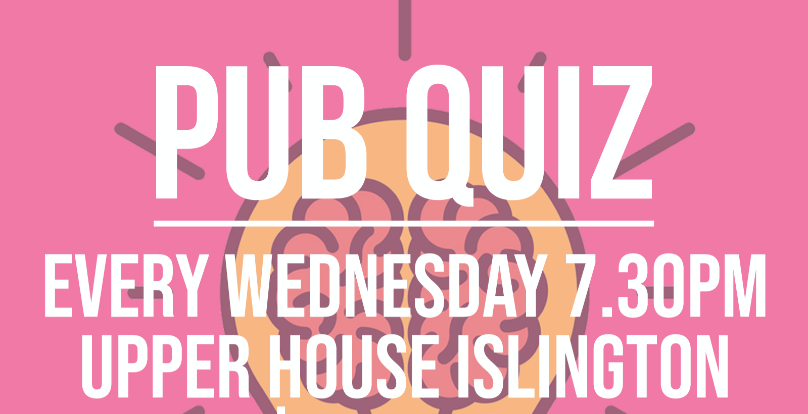 QUIZ NIGHT - EVERY WEDNESDAY