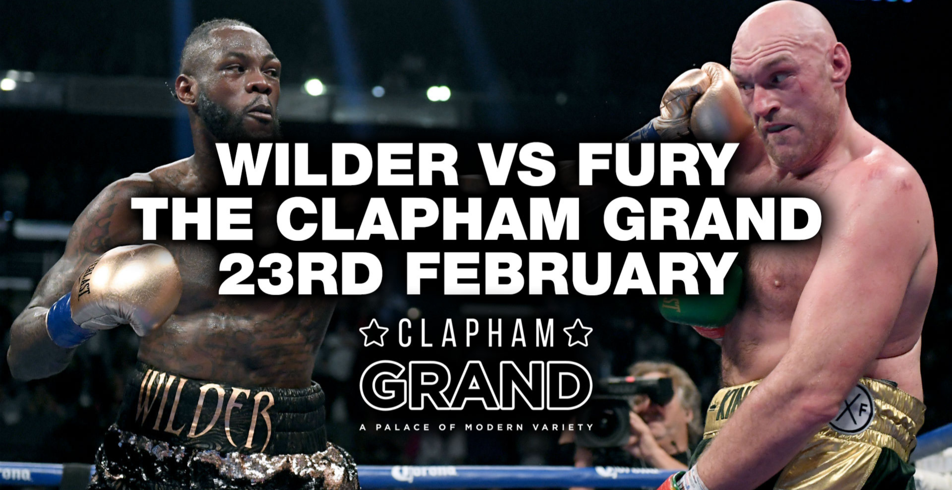 FURY vs WILDER - Watch the fight live!