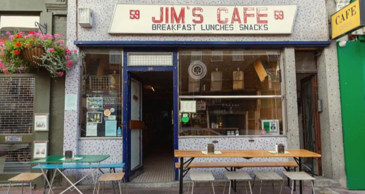 Jims Cafe | Secret Retro Bars London | DesignMyNight