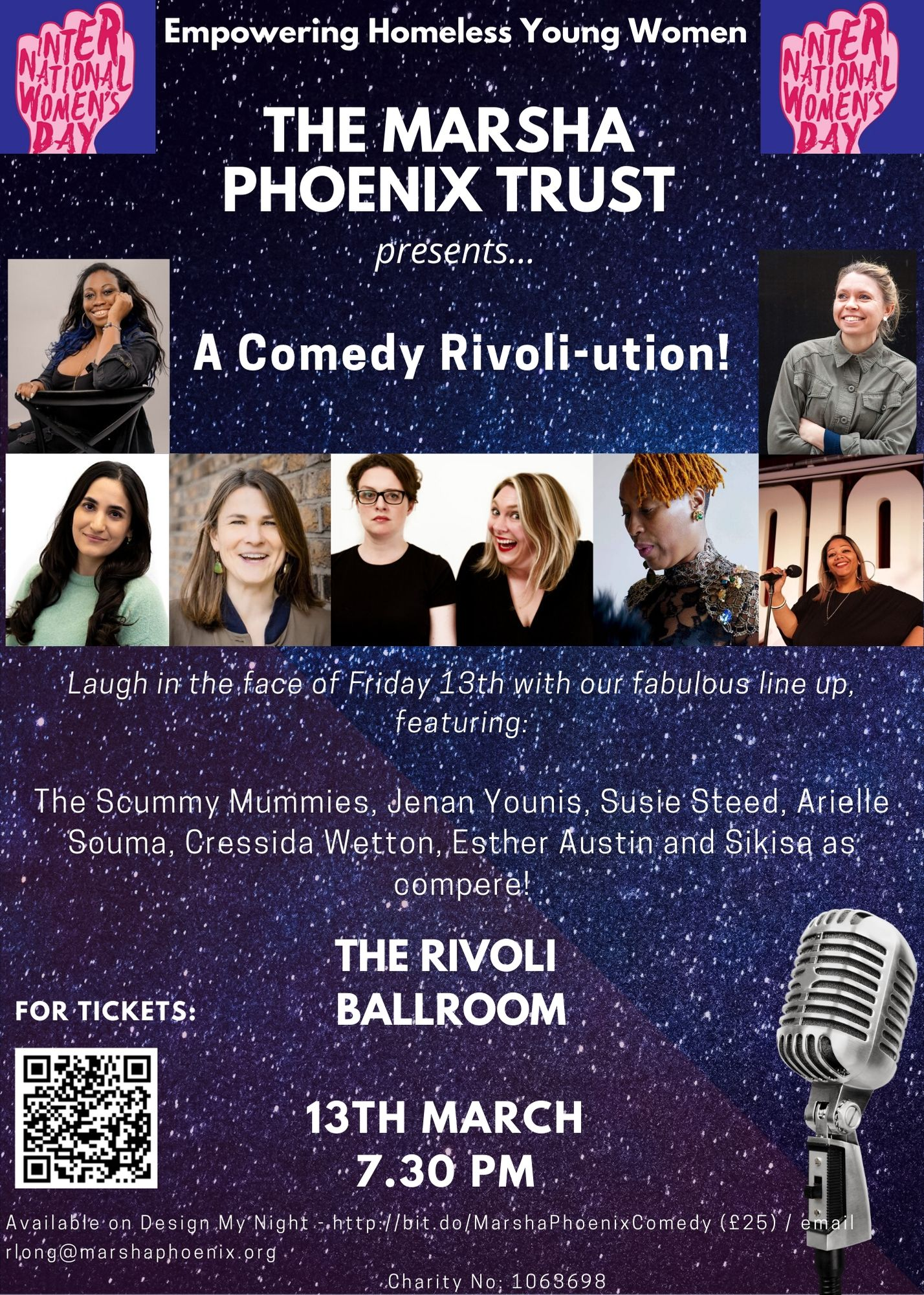 The Marsha Phoenix  Trust Comedy Fundraiser