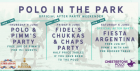 The Official Polo In The Park After Party Weekend