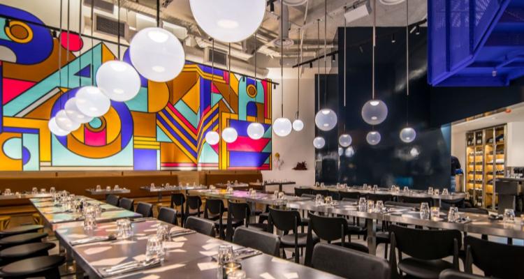 Pastaio Interiors | London Pasta Restaurant Review | DesignMyNight