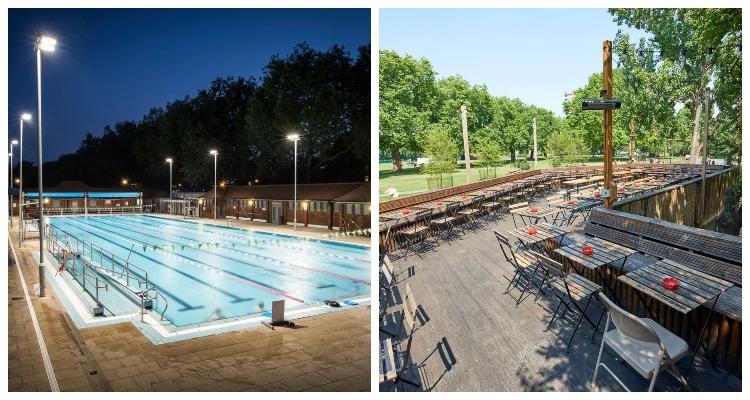 Outdoor Pools In London London Fields Lido