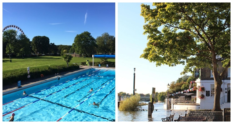Outdoor Pools In London Pools on the park Richmond