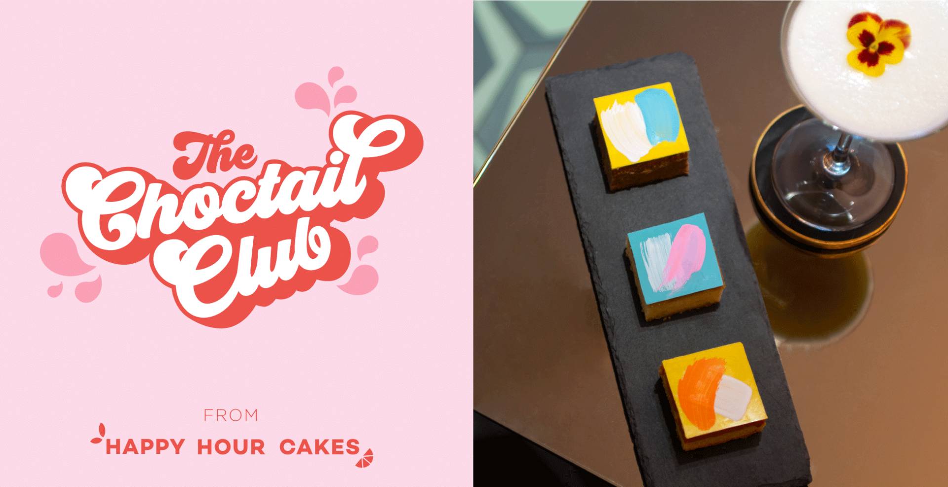The Choctail Club from Happy Hour Cakes