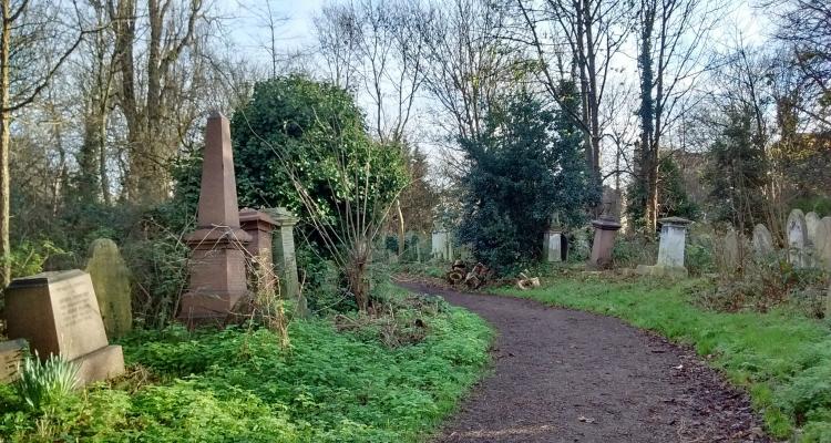 woodland walks London Abney Park stoke newington