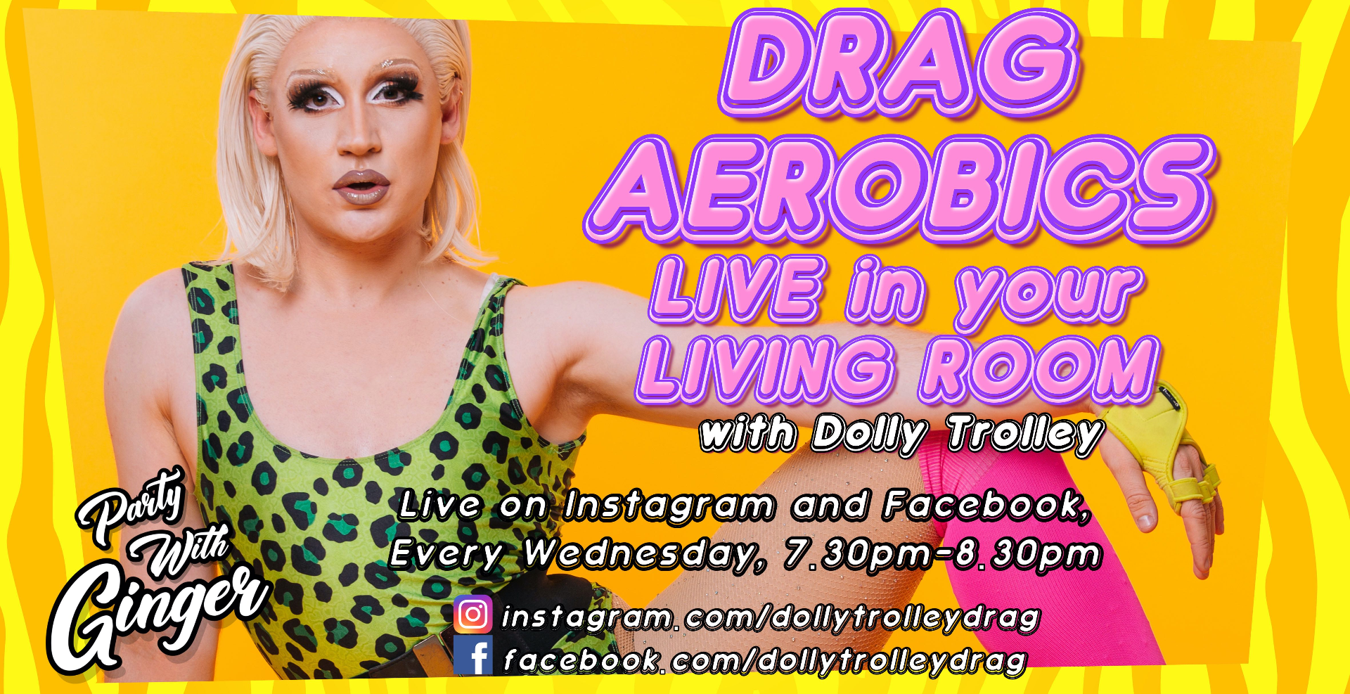 Drag Aerobics: Live in your Living Room