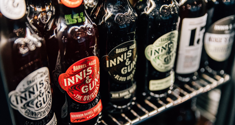 Innis & Gunn | Glasgow Booze Deliveries | DesignMyNight