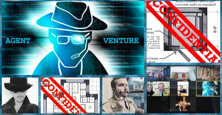 Agent Venture - Online Immersive Escape Game