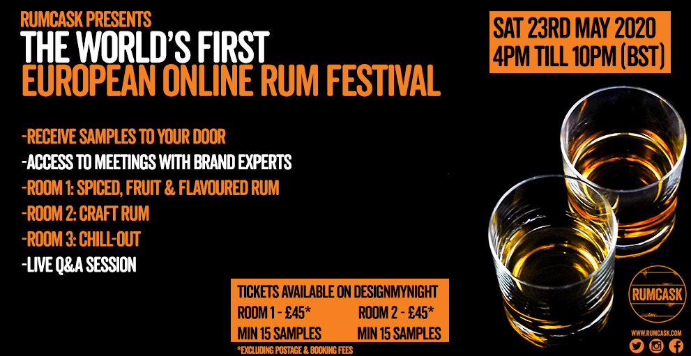 The World's First European Online Rum Festival