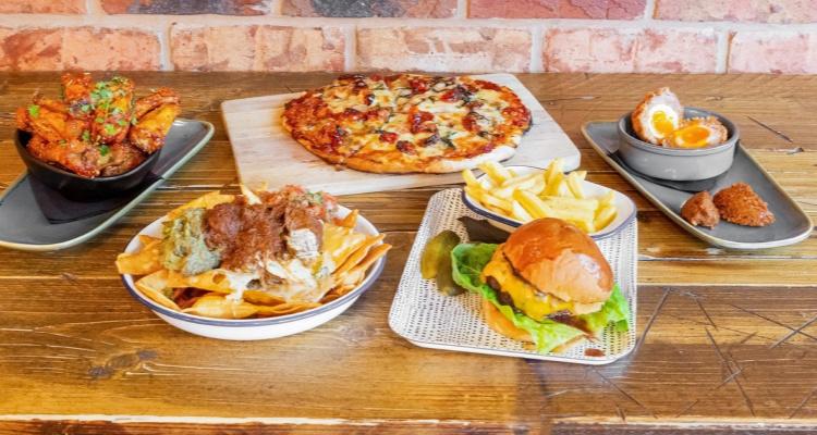 The Loft Brum Vegan Pub Restaurant Food