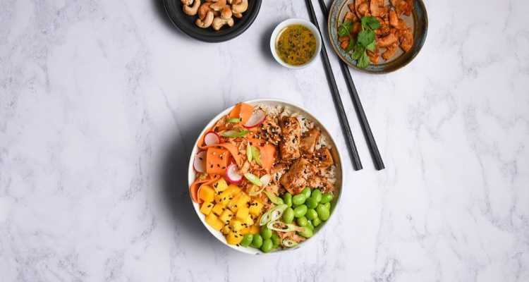 Kuula Poke Bowl Vegan Delivery Birmingham