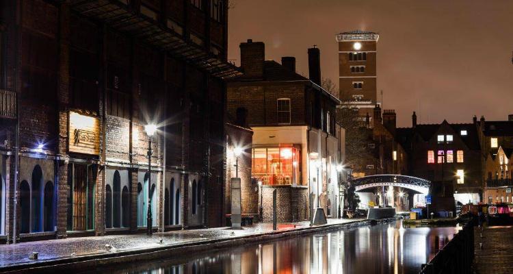 Gas Street Basin Birmingham Canal